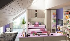 An idea to decor your little girls' room in pink!