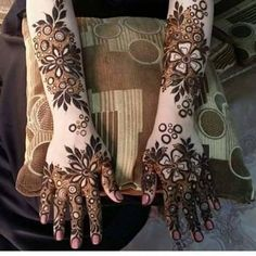 6 Types Of Aarebic Mehndi Design