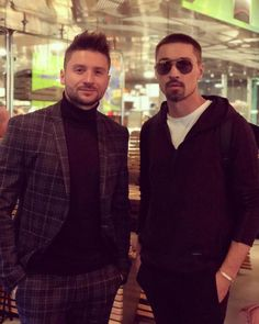 Sergey Lazarev & Dima Bilan