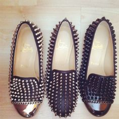 Its a Louboutin family of spiked loafers. Check out more great products on free local shopping app Snapette - www.snapette.com/app
