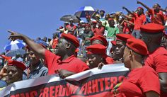 As protests continue to rage across the country, getting significant attention as we run up to the elections, the Economic Freedom Fighters (EFF) are following them faster than the Bang Bang Club. They want to be seen as the leaders of the New Struggle, and on the streets, no one does it so well. By GREG NICOLSON.