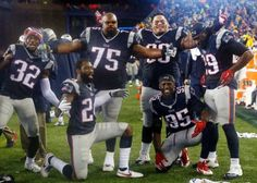 Wilfork & the gang #WeAreTheChampions