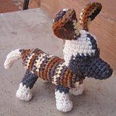 Ravelry: Wild Dog Amigurumi pattern by Pernille Heelsberg