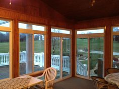 New sunroom in Forest, VA Stamped Concrete, Concrete Patio, Sunroom Kits, Home Instead, Energy Efficient Windows, Southern Porches, Pool Decks, Sunrooms, Backyard Landscaping