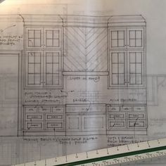 Spent the day finalizing cabinetry designs for a wonderful farmhouse in Tennessee. Cannot wait to see Morgan Creek cabinetry's execution - they bring my designs to life so beautifully! #Tennessee #Farmhouse #cabinetry