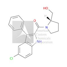 (5-chloro-3-phenyl-1H-indol-2-yl)-[(2S)-2-(hydroxymethyl)pyrrolidin-1-yl]methanone is now  available at ACC Corporation