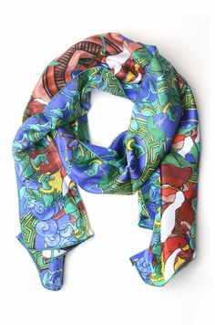 Kinloch foulard per donna - 2015 Collection #silk #fashion