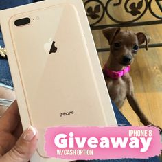 One VERY lucky winner will get chance to choose between an iPhone 8 (rose gold) or $500 Paypal Cash 💰 USA, Canada, and UK residents only Giveaway 📱   #contestalert #sweepstakes #iphone8 #apple #iphone #iphoneography #free #freestuff #freebies #giveaways