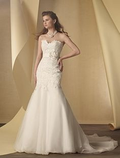 ALFRED ANGELO Bridal Collection Style 2456. #BestForBride