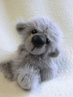 "Tanya thought pf you♥  3"" little Tommy!  a new design in my baby bear creations!   custom orders available"