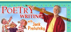 Poetry writing workshop with Jack Prelutsky--4th grade