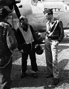 Major James Stewart during World War II