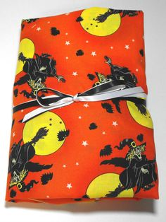 Halloween Sheet For Kids, Fitted, for Crib or Toddler Bed. $21.99, via Etsy.