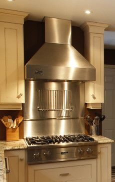 Stainless Steel Range Hood Design Ideas Pictures Remodel And Decor Page 2