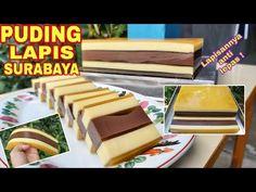Resep Puding Lapis Surabaya Anti Copot   How To Make Surabaya Layer Pudding (English Subtitle) - YouTube Lapis Surabaya, Youtube Cooking, The Creator, Food And Drink, Pudding, Custard Pudding, Puddings
