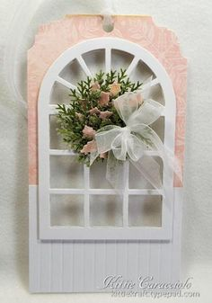 Christmas Window Wreath by kittie747 - Cards and Paper Crafts at Splitcoaststampers