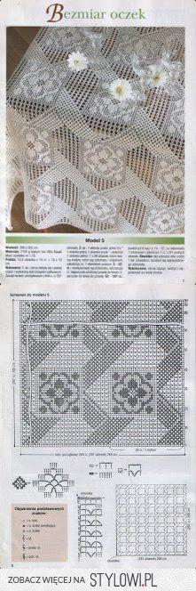 tovaglia / crochet per Stylowi.pl