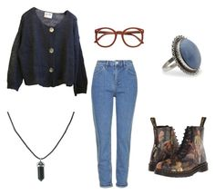 mom jeans 2.0 by stinkhead on Polyvore featuring polyvore, fashion, style, Topshop, Dr. Martens, NOVICA and clothing