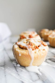 chestnut butterscotch puff pastry rolls