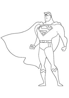 Here are the Perfect Cartoon Pictures Of Superman Colouring Pages. This post about Perfect Cartoon Pictures Of Superman Colouring Pages was posted . Easy Coloring Pages, Cat Coloring Page, Animal Coloring Pages, Kids Coloring, Superman Coloring Pages, Spiderman Coloring, Superman Drawing, Drawing Superheroes, Super Hero Coloring Sheets