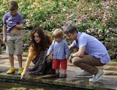 Prince Christian, Crown Princess Mary, Prince Vincent and Crown Prince Frederik  (Getty photo)