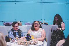 Cheri + Rachel's Same Sex Morris Museum Wedding || New Jersey Weddings || BG Productions Photography || www.bgproonline.com #weddingspeaches
