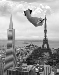 Surreal Photo Manipulations by Thomas Barbéy