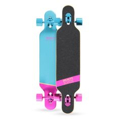 """2015 Brunotti Bob Longboard - Purple Het ultieme longboard skateboard. Dankzij het """"droptrough deck"""" heeft het board een zeer laag zwaartepunt. Dit maakt het ideaal voor Downhilling en sliding. Door de dat het board aan beide kanten een Kicktail heeft is hij ook geschikt voor freestyle tricks."""