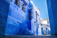 Chefchaouen, Morocco | 17 Impossibly Colorful Cities You'll Want To Visit Immediately