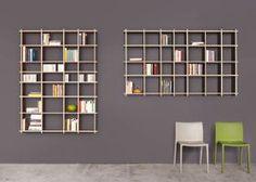 Ron 4/7+7/4 Plywood shelf Bookcase
