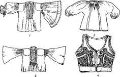 История костюма - Венгерский национальный костюм. 17-19 век