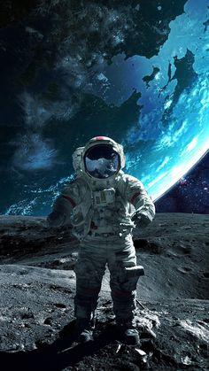 Moon Astronaut IPhone Wallpaper - IPhone Wallpapers