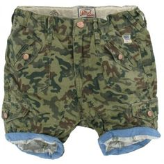 Petrol Industries - Short Camouflage army