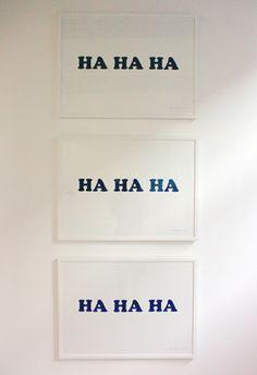 Laughing walls :)
