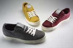 #shoes #fashion source: http://www.gq.com/style/blogs/the-gq-eye/2012/03/stuff-we-like-puma-x-undefeated-clyde-sneakers.html