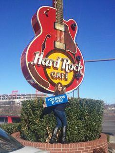 Hard Rock in Nashville, TN. #worldventures #youshouldbehere #YSBH