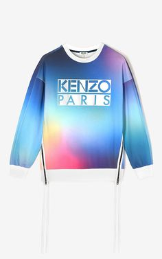 Sweatshirt Oversize 'Northern Lights', FUSHIA FONCE, KENZO
