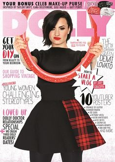 Dolly #magazines #August #2015 #Demi Lovato