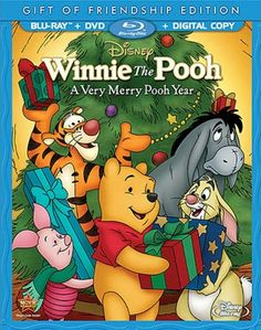 A Very Merry Pooh Year is now available on Blu-ray Combo Pack! (2013) | Great for Christmas and New Year's