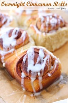 The BEST cinnamon rolls from Roxanashomebaking.com Soft, rich, buttery, sweet full of brown butter and cinnamon topped with cream cheese icing