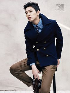 Yoo Ah In Models ZIOZIA collection