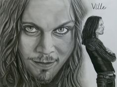 Beguiling Ville Valo by lackasleep on DeviantArt