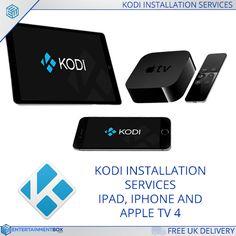 Kodi IPA files for Apple Ipad Iphone Kodi App - EntertainmentBox