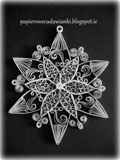 Quilled star/snowflake