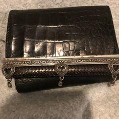 Used Brighton tri-fold black wallet for sale in Gilbert - letgo e5baa8f8a