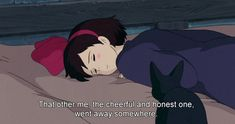 studio ghibli digital art graphic design aesthetic drawing modern anime style asian japanese chinese ethereal g e o r g i a n a : a r t Kiki Delivery, Kiki's Delivery Service, Quote Aesthetic, Aesthetic Anime, Aesthetic Drawing, Introvert, Infj, Citations Film, Cartoon Quotes