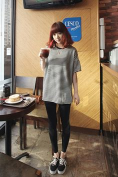 Stripes Japan T Shirt  Shop casual, office, prom, party dresses online at: http://clothingcandy.com/clothing.html