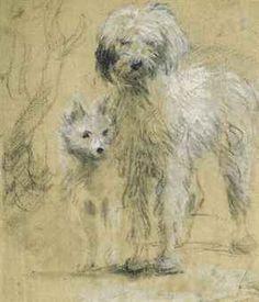 Tristram and Fox by Thomas Gainsborough