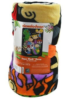 Snuggle up with all of your favorite characters with our Nickelodeon Rewind Plush Throw. This soft, warm blanket has you covered. Old Cartoon Shows, 90s Theme, 90s Nickelodeon, Comfy Blankets, Bear Birthday, Beauty Creations, Rugrats, Apartment Ideas, Diy Gifts