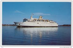 Yarmouth - Canada ca. 1970 postcard Prince of Fundy Automobile-Cruise Ferry from Portland, Maine to Yarmouth, Nova Scotia